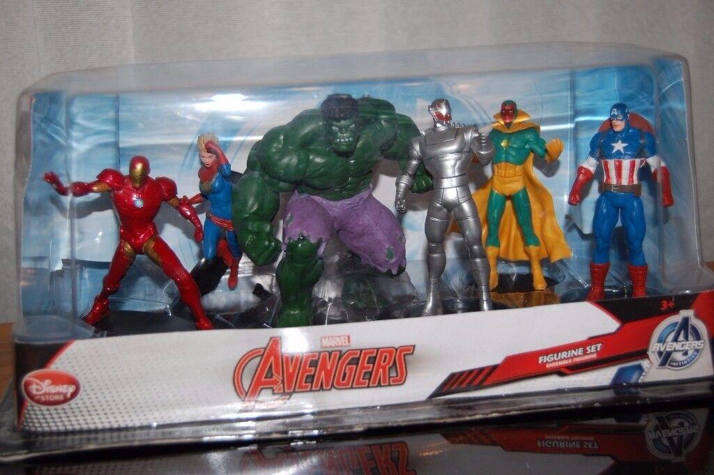 Marvel Avengers figurine set from Disney. Used but sealed like new