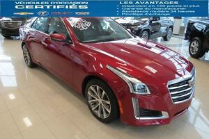 2016 CADILLAC CTS SEDAN AWD LUXURY DEMARREUR,TOIT, BLUTOOTH...
