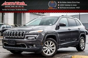 2017 Jeep Cherokee Limited|Leather|Backup Cam|R.Start|HTD Frnt S