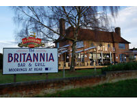 Full time 2nd Chef (Trainee Assistant Kitchen Manager) - Up to £9.00 per hour - Britannia - Marlow