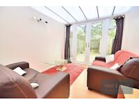 STUNNING 4 BEDROOM, 2 BATHROOM HOUSE TO RENT IN OVAL SW9 - LARGE EAT IN KITCHEN/DINER WITH GARDEN
