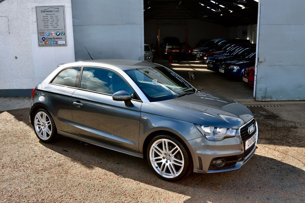 2011 audi a1 s line 1 6 105ps fash 2 keys top spec daytona grey not polo ibiza mito a3 mini. Black Bedroom Furniture Sets. Home Design Ideas