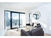 Modern & spacious 13th floor property with amazing views from private balcony - Canary Wharf E14