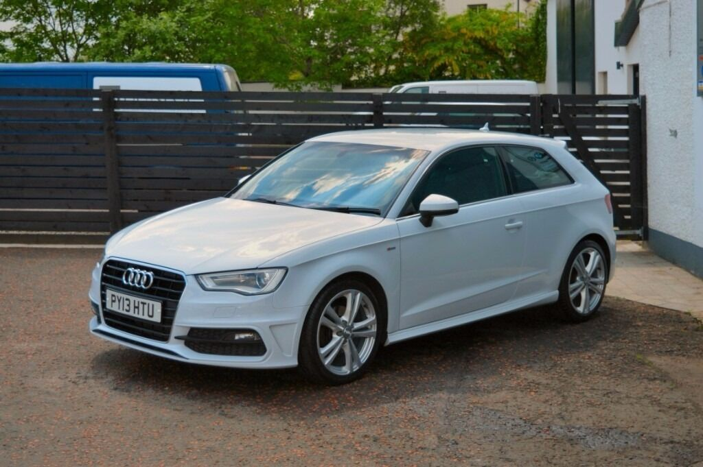 2013 new model audi a3 s line 1 6 tdi glacier white 0 tax. Black Bedroom Furniture Sets. Home Design Ideas