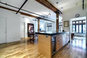 Amazing condos for rent in Old Montreal with INDOOR garage