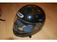 Box Road motorbike helmet / Lid Size X Small 54cm