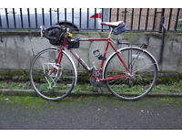 Peugeot Steel Touring bike Carbolite upgraded with Shimano RSX gears Size 54cm