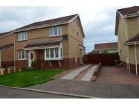 2 BED, UNFURNISHED SEMI-DETACHED HOUSE TO RENT - DENHOLM AVENUE, MUSSELBURGH