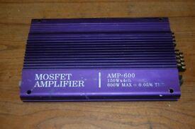 Mosfet 600 Amplifier