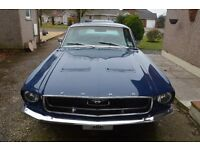 Ford Mustang 302 V8 Auto Coupe 1967 Dark Blue