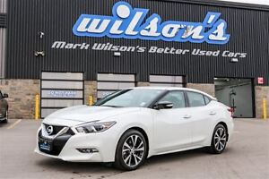 2017 Nissan Maxima SV $92/WK, 5.89% ZERO DOWN! LEATHER! NAVIGATI