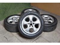 "Genuine Jaguar S-Type 16"" Alloy wheels 5x108 S Type Alloys Ford Volvo"