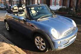Mini Cooper Convertible 2007. 55,600miles 2 female owners. Well looked after and loved.