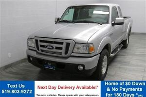 2010 Ford Ranger SPORT EXTENDED CAB! TOW PKG! SIDE STEPS! ALLOYS