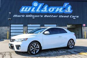 2013 Kia Forte Koup SX LEATHER! NAVIGATION! SUNROOF! POWER PACKA