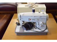 singer sewing machine plus instructions and cover