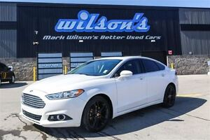 2014 Ford Fusion TITANIUM! AWD!! NEW TIRES! NEW BRAKES! LEATHER!