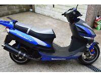 lexmoto 125 cc petrol 2012 good condition need tlc and new battery