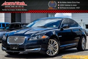 2012 Jaguar XF Portfolio Nav Sunroof Leather HTD/Vntd Frnt Seats