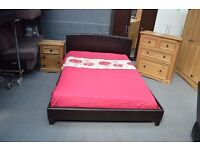 WHOLESALE OR TRADE any bed double single wood chrome or leather king ,double