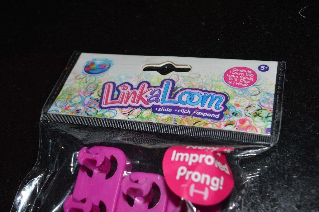 Link and loom band set