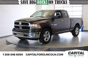 2015 Ram 1500 SLT Quad Cab 4WD *HEMI-Touch Screen-Bluetooth*