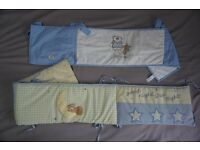 Baby Boy Cot Bed Bumpers