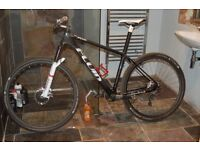 carbon mountain bike 29er large