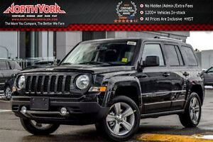 2017 Jeep Patriot NEW Car North Edition|4x4|HtdFSeats|SatRadio|A