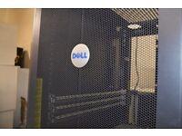 2x Dell 4210 Rack Server Cabinets 42u
