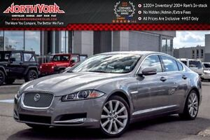 2013 Jaguar XF V6 AWD|Bluetooth|Rear Cam|Nav|Sunroof|Htd Front S