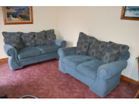 2 Seater and 3 Seater Sofas - Navajo Design - Good Condition