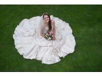 Ian Stuart Wedding Dress ~UK10 (£400 ONO) for sale  Hitchin, Hertfordshire