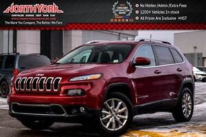 2016 Jeep Cherokee Limited 4x4|SafetyTec,Tech,Luxury,Trailer Tow