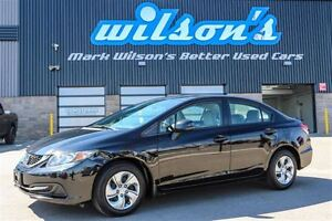 2013 Honda Civic $53/WK, 4.74% ZERO DOWN! LX NEW TIRES! CRUISE C