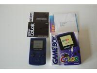 Boxed Purple Game Boy Color