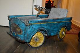 Superb Original 1950's Pedal Car Quadricycle Toy