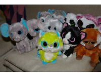10 Ty Beanie Boos plus 1 Yoohoo and Friends (Toothee) some rare, all excellent condition
