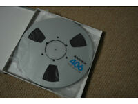 Box of Professional Reel to Reel Audio tapes