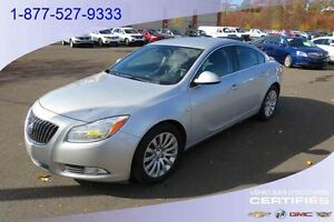 2011 BUICK REGAL CXL PNEUS HIVER INCLUS