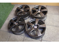 "Refurbished Genuine Mercedes E Class W207 18"" Alloy wheels 5x112 C Class W204 VW Audi"