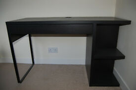 Smart Black Office Desk
