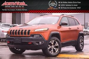 2016 Jeep Cherokee Trailhawk 4x4|Comfort &Convenience Pkg|Leathe