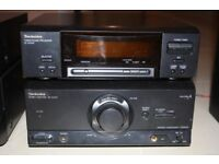 *Technics amplifer + tuner and sound procesor* {delivery}