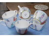 Brand New M&S large fine china Mugs