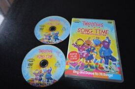 DVD - Tweenies Song time the complete collection