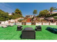 Fantastic Holiday resort, Huge villa + FOUR holiday letting apartments for sale, Mijas, Malaga Spain