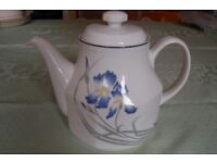 Royal Doulton Teapots 'Expressions, Minerva', 'Carmel' & 'Morning Star' 2pts, in Pristine Condition.
