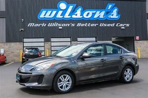 2013 Mazda MAZDA3 GX SEDAN! CRUISE CONTROL! POWER PACKAGE! NEW T