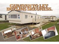 Caravan to Let Butlins Skegness **Late Deals For May and June**